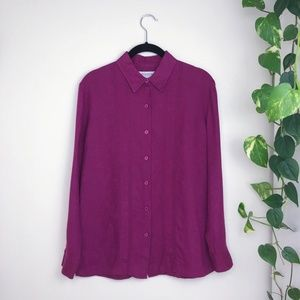 Brooks Brothers Women's Button Down Linen Shirt 4